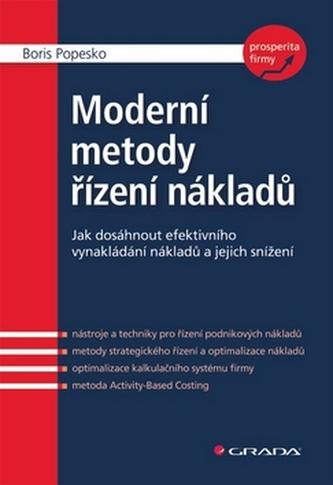 Moderní metody řízení nákladů