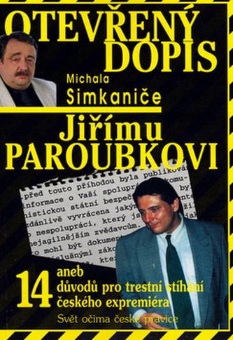 Otevřený dopis Jiřímu Paroubkovi