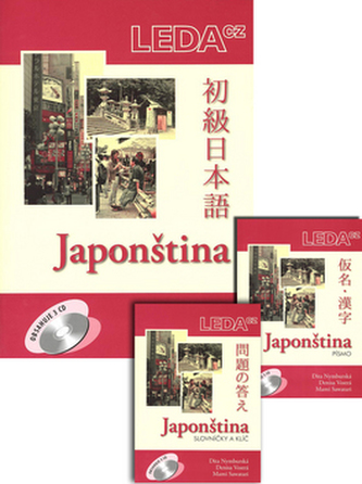 Japonština + 3 CD