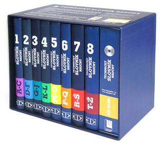 Technický naučný slovník 1 - 8 +  CD ROM
