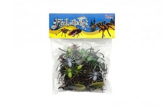 Zvířátko/hmyz plast 5-10cm 32ks v sáčku