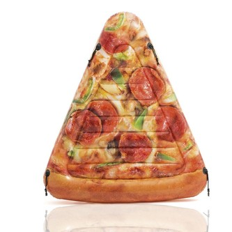 nafukovací lehátko pizza 175 x 145 cm