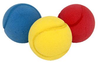 míček soft barevný, 2 ks v sáčku, 7 cm