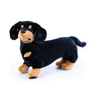 plyšový pes jezevčík, 45 cm