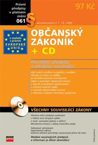 Občanský zákoník + CD