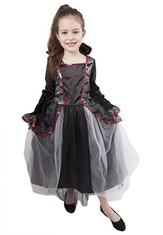 Dětský kostým čarodějnice s netopýry (L), Čarodějnice / Halloween