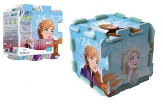 Pěnové puzzle Ledové království II/Frozen II 118x60cm 8ks v sáčku