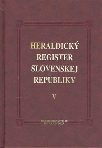 Heraldický register SR V