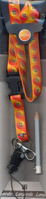 Šňůra na krk Smajlík - LY 003