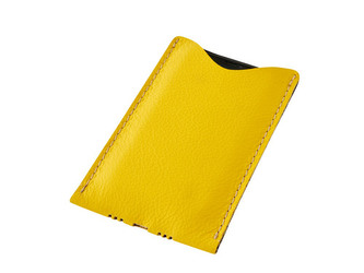 Obal na mobil D49 žlutý