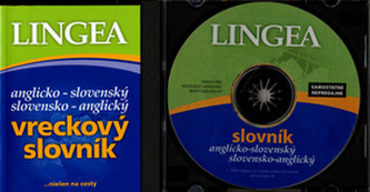 Anglicko-slovenský slovensko-anglický vreckový slovník + CD