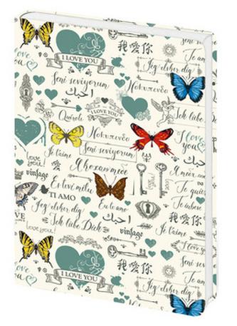 Zápisník Lyra Butterflies - linkovaný S