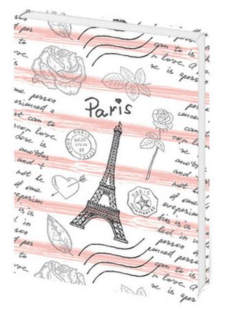 Zápisník Lyra Paris love - linkovaný M