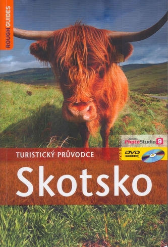 Skotsko- turistický průvodce+ DVD