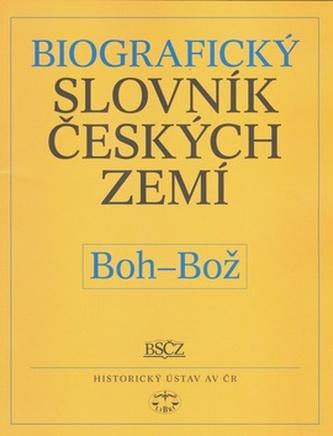 Biografický slovník českých zemí, Boh-Bož
