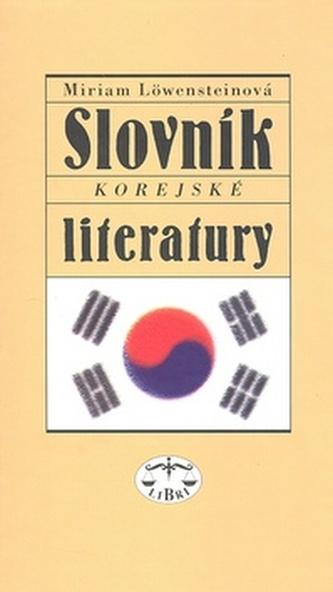 Slovník korejské literatury
