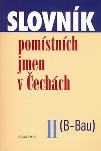 Slovník pomístných jmen v Čechách II.