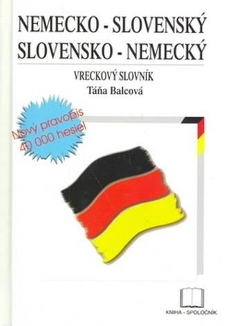 Nemecko-slovenský a slovensko-nemecký vreckový slovník