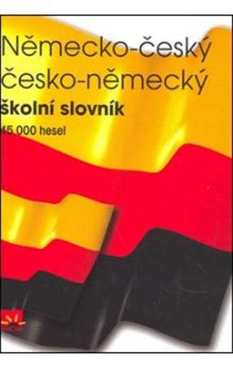 Německo - český česko - německý školní slovník