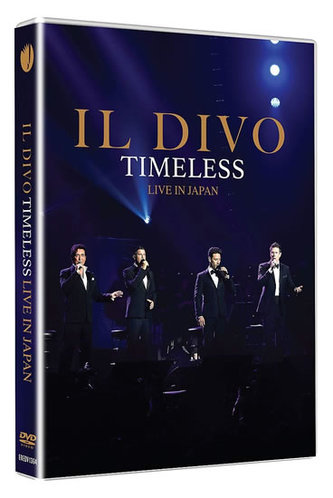 IL DIVO: Timeless Live in Japan DVD - Müller, Divo