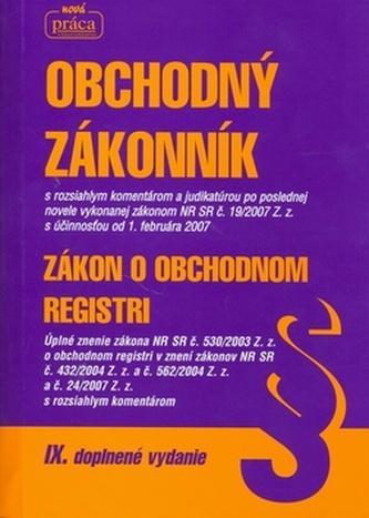 Obchodný zákonník 2007