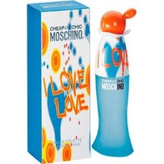 Moschino I Love Love Toaletní voda 100 ml pro ženy