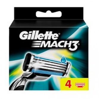 Gillette Mach 3 ( 4 ks ) - Náhradní hlavice pro muže