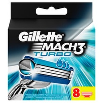 Gillette Mach 3 Turbo - náhradní břity