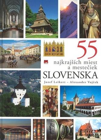 55 najkrajších miest a mestečiek Slovenska