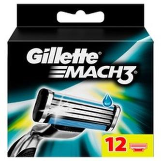 Gillette Mach3 ( 12 ks ) - Náhradní hlavice pro muže