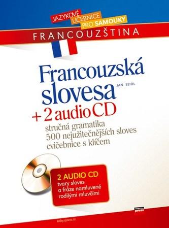 Francouzská slovesa + 2 AUDIO CD