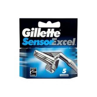 Gillette Sensor Excel ( 5 ks ) - Náhradní hlavice pro muže