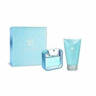Trussardi Parfums Blue Land Dárková sada Toaletní voda 50 ml a sprchový gel Blue Land 100 ml