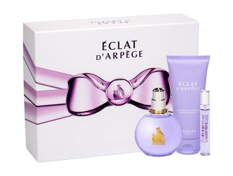 Lanvin Eclat D´Arpege Dárková sada Parfémová voda 100 ml, tělové mléko 100 ml a miniaturka Parfémová voda 7,5 ml 100 ml pro ženy