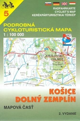 Košice, Dolný Zemplín 1:100 000
