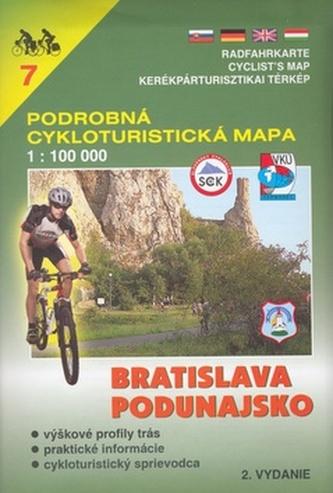 Bratislava, Podunajsko 1:100 000