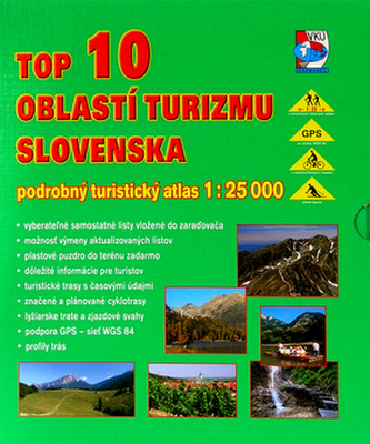 TOP 10 oblastí turizmu Slovenska