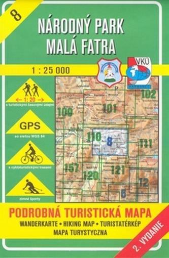 Národný park Malá Fatra 1:25 000