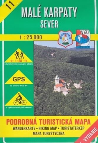 Malé Karpaty - sever 1 : 25 000