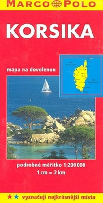 Korsika 1:200 000