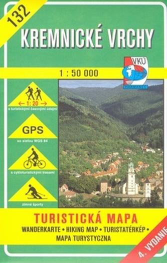 Kremnické vrchy 1:50 000