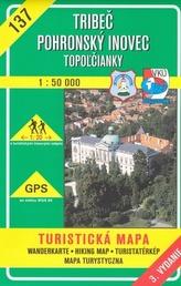 Tribeč Pohronský Inovec 1:50 000