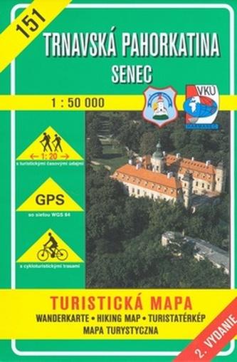 Trnavská pahorkatina Senec 1:50 000