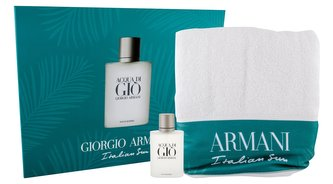 Giorgio Armani Acqua di Gio toaletní voda 100 ml + ručník