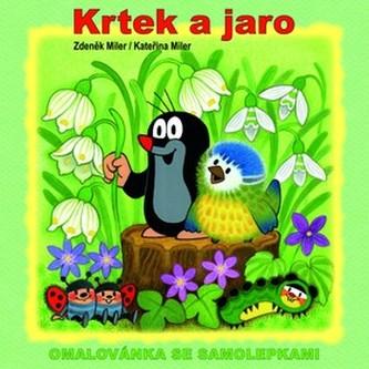Krtek a jaro - omalovánka