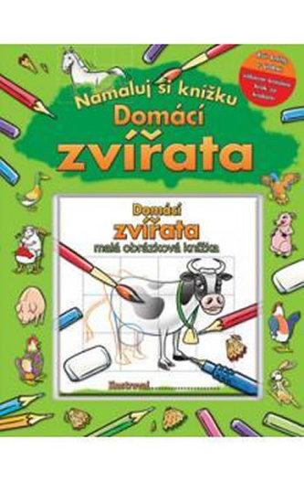 Domácí zvířata - Namaluj si knížku