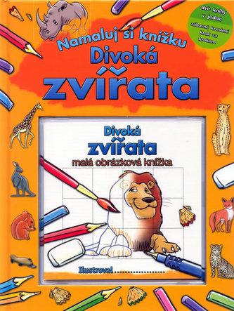 Divoká zvířata - Namaluj si knížku