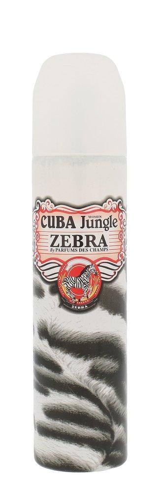 Cuba Cuba Jungle Zebra Parfémovaná voda 100 ml pro ženy
