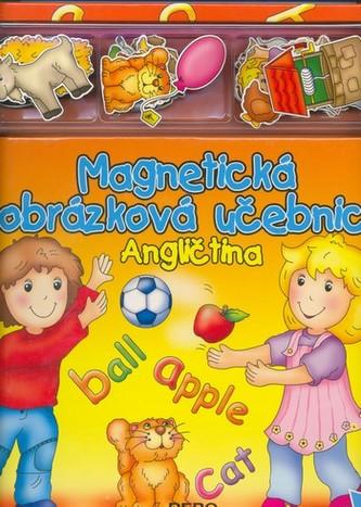 Magnetická obrázková učebnice-Angličtina
