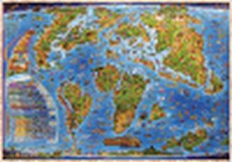 Dětská mapa Živočichové světa